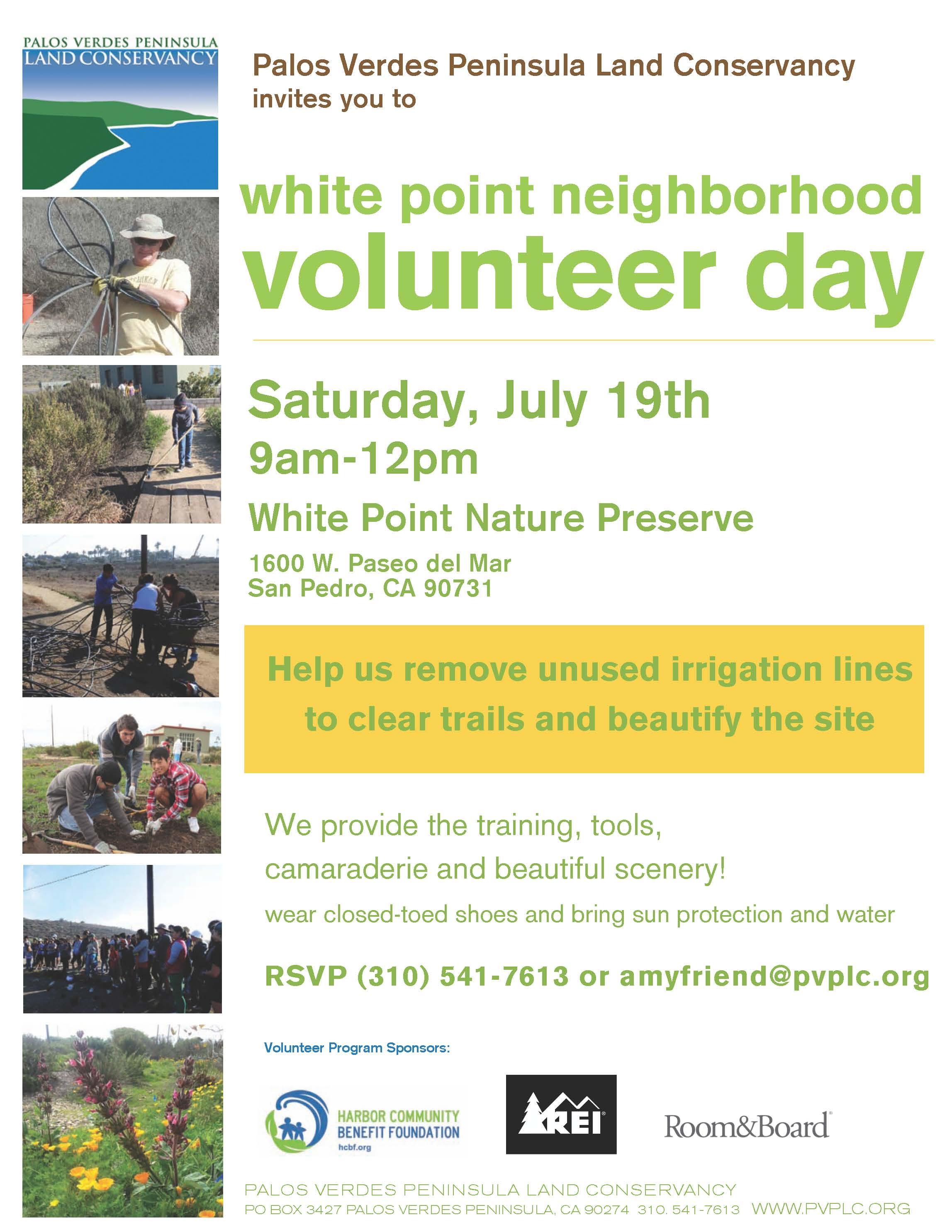 volunteers needed the san pedro coast