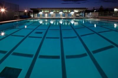 San Pedro High School Olguin campus pool opened in fall 2012.