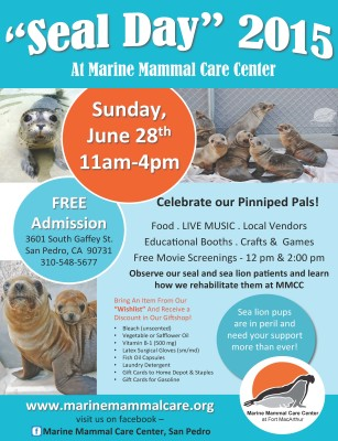 Seal Day Flyer