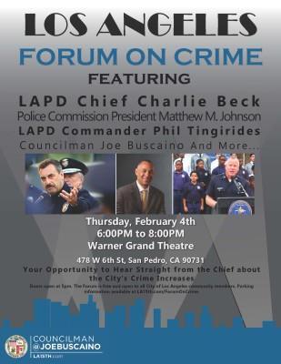 Crime Forum Flyer