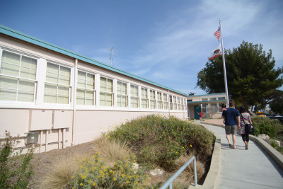 White Point Elementary School entrance
