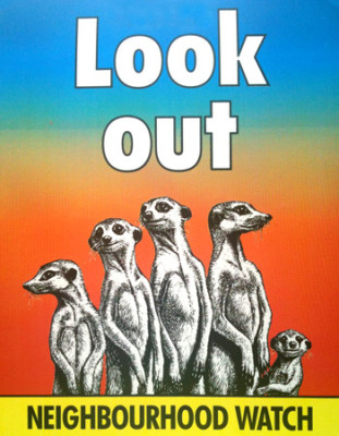 neighborhood watch meerkats